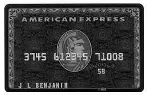 アメリカン・エキスプレスのブラックカード保持者