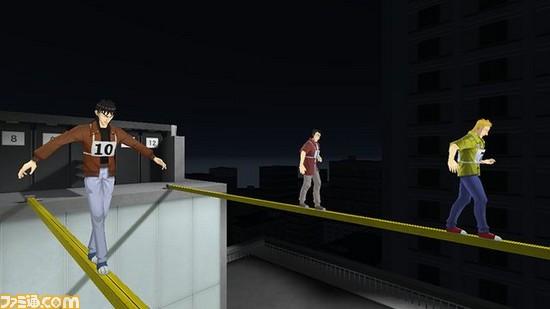 プレイヤーはカイジと同じ鉄骨渡りの参加者
