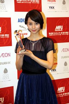 2013年、「ベストドレッサー賞」受賞