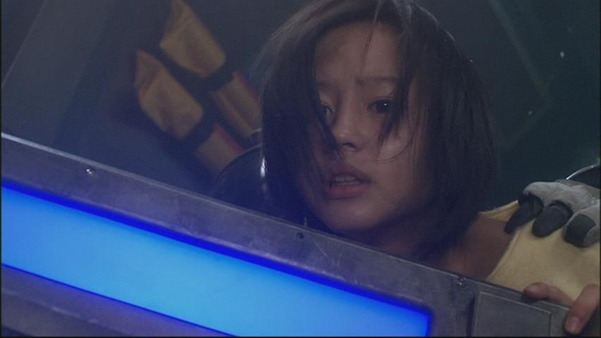2003年7月、映画『COSMIC RESCUE』で銀幕デビュー