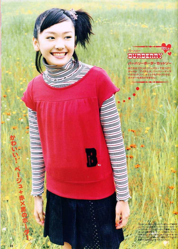 14歳のとき『ニコラ』で雑誌デビューを飾る