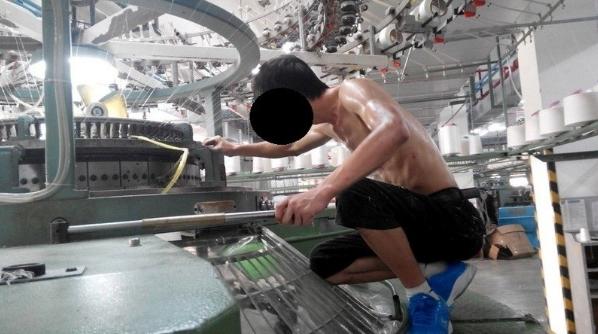 中国下請け工場では奴隷労働をさせていた!