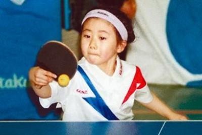 1993年6月、「宮城県小学生卓球選手権大会」に出場し見事優勝、全国大会の同クラスでもベスト16に入る