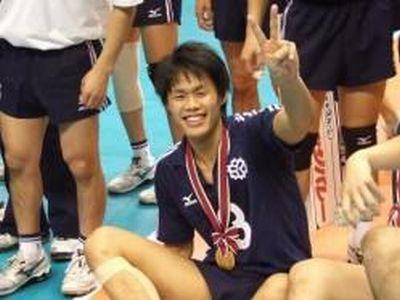 高校時代は九州を代表するエース、大学時代は全日本インカレ2連覇に貢献