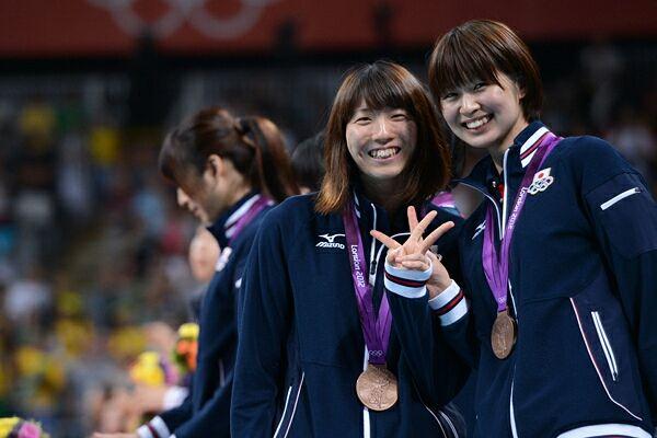 2012年、ロンドン五輪で銅メダルを獲得