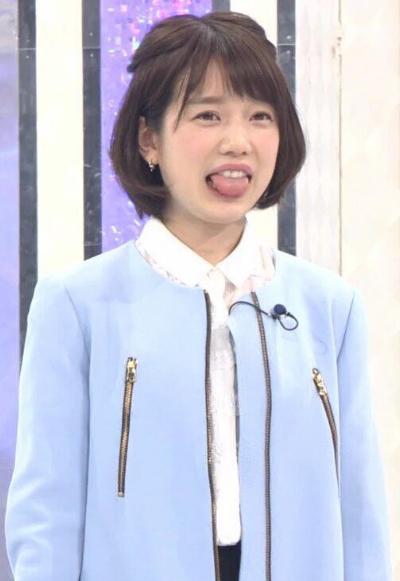 「私服センスなし女 決定戦」での弘中綾香アナの私服姿①