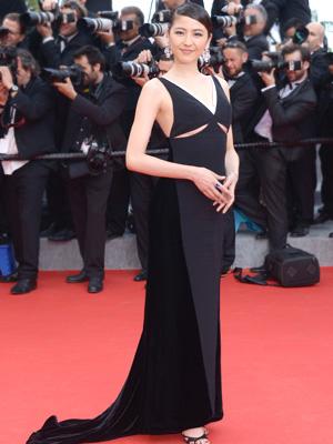 第67回カンヌ国際映画祭でのセクシーなドレス