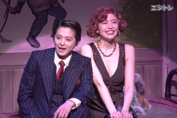 クリフを演じる小池徹平さんと長澤まさみさん