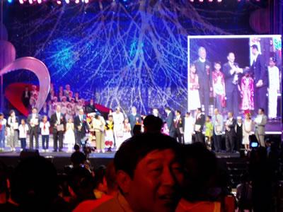 2002年9月22日、「日中国交30周年記念コンサート」に出演