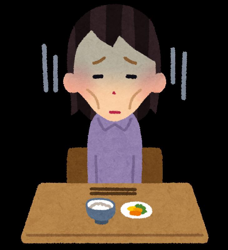 ストレスが原因の拒食症