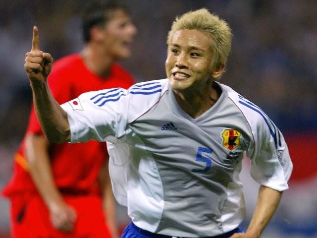 2002年の日韓ワールドカップで活躍する稲本潤一さん