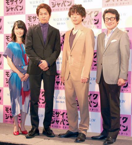 永山絢斗さん(176cm)・高橋一生さん(175cm)
