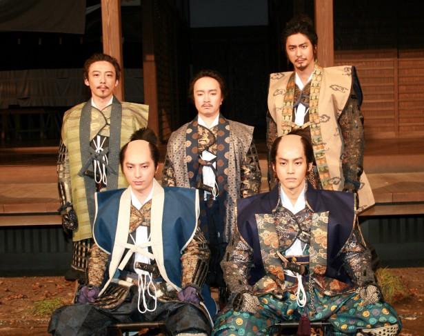 大河ドラマで親友と共演