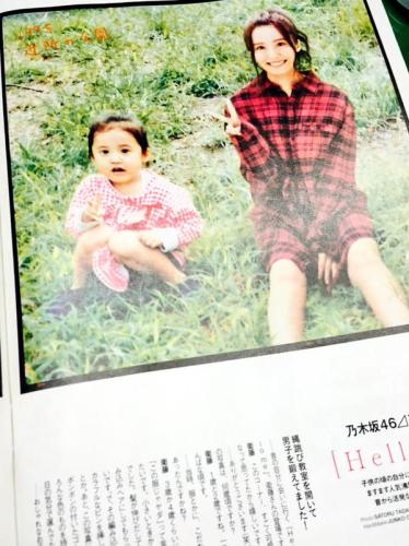 左が幼少時の衛藤美彩さん右は現在の衛藤美彩さん(合成写真)