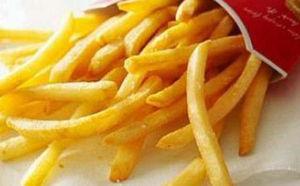 大手ファーストフード店のフライ食品はトランス脂肪酸が多い