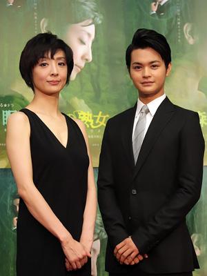 2012年放送ドラマ『眠れる森の熟女』 草刈民代さん
