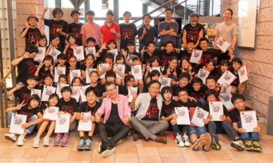 """2017年8月20日開催『日野皓正 presents """"Jazz for Kids""""』にて"""
