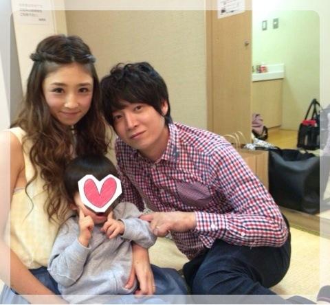 小倉さんと菊池さんと長男の3ショット