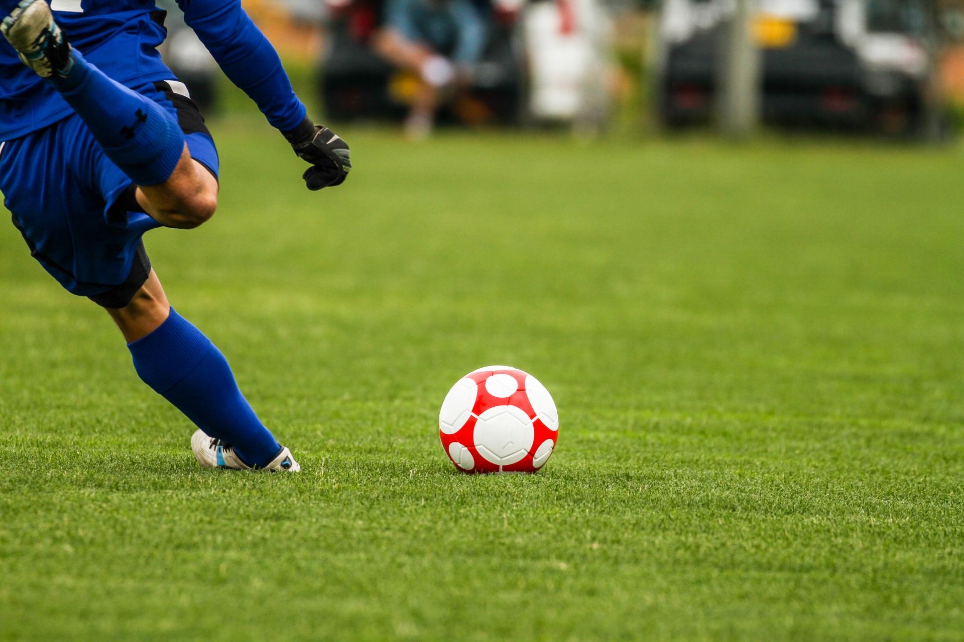 趣味はサッカー