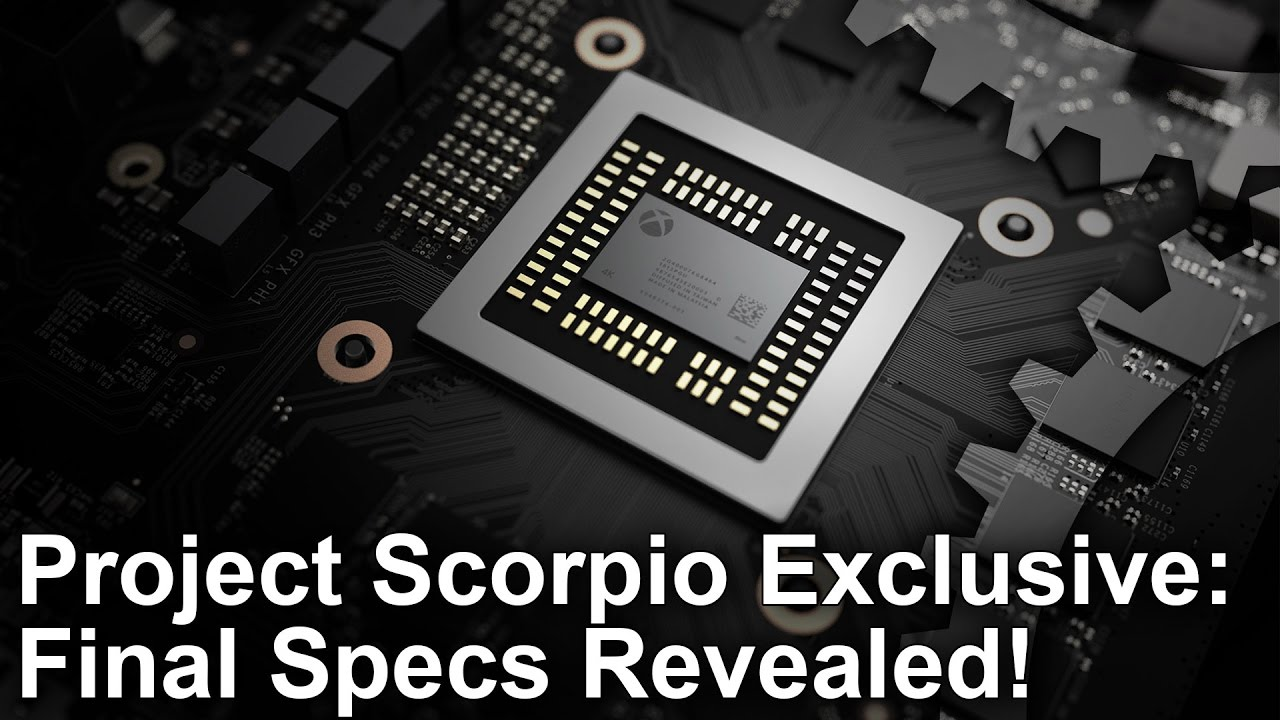 Xbox One X/ Project Scorpio Exclusive: Final Specs Revealed! - YouTube