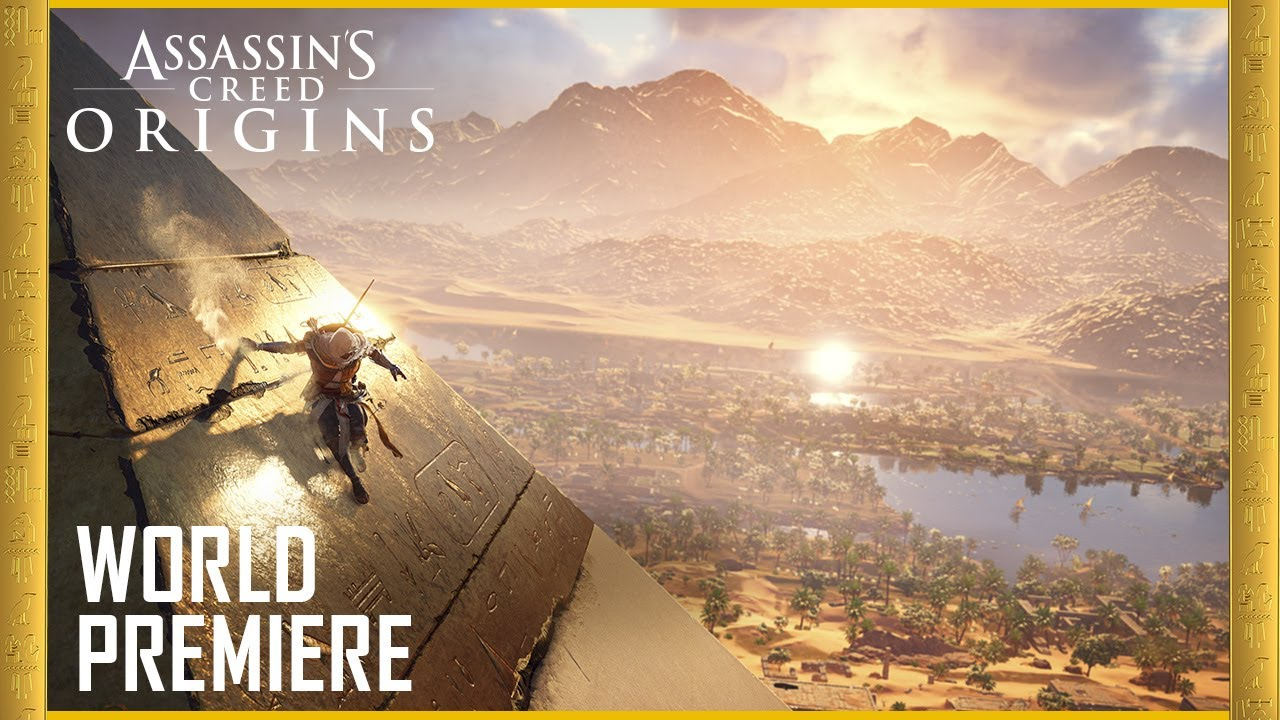 Assassin's Creed Origins: E3 2017 Official World Premiere Gameplay Trailer | Ubisoft [US] - YouTube